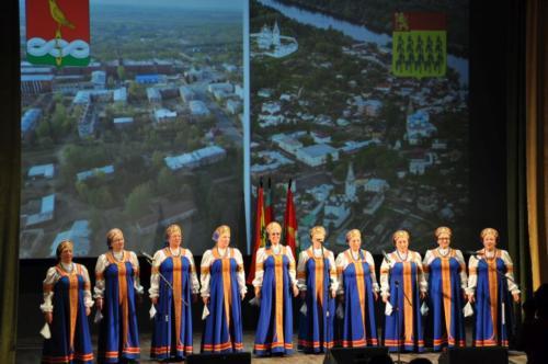 Мы представяем Собинский район в г. Гороховец